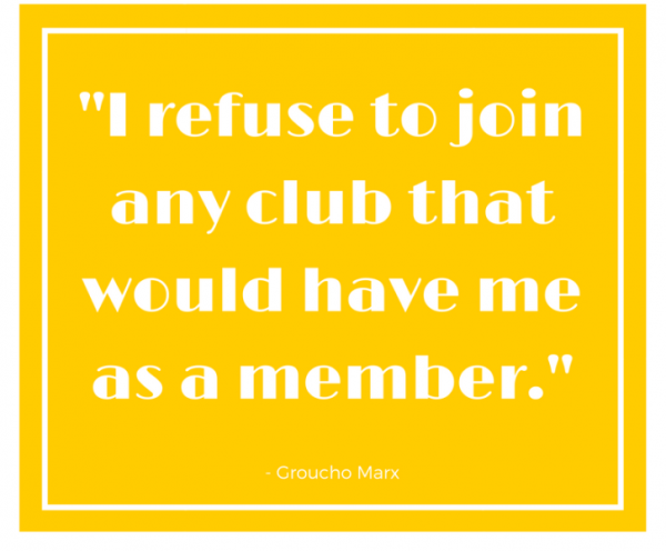 Picture: I Refuse To Join Any Club