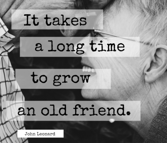 It Takes A Long Time To Grow