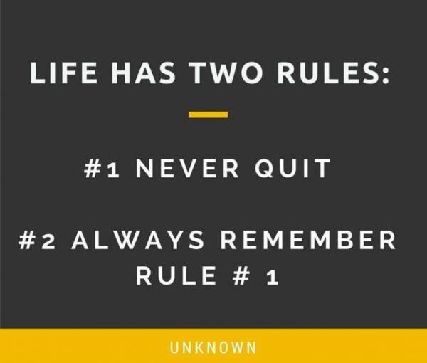 Picture: Life Has Two Rules