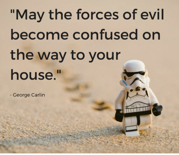 May The Forces Of Evil Become Confused