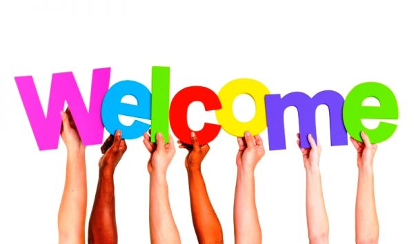Rainbow Welcome Image