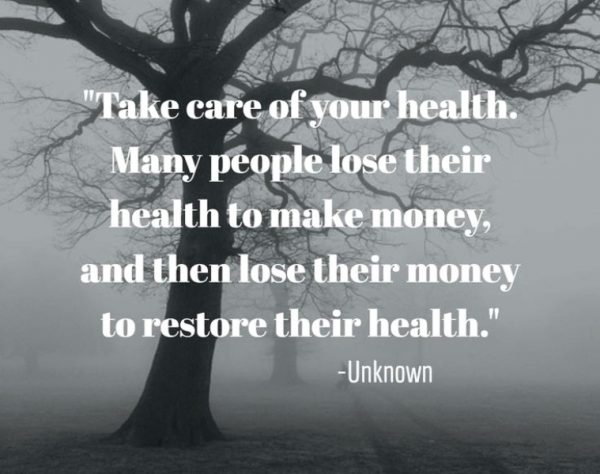 Take Care Of Your Health