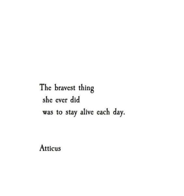The Bravest Thing She Ever Did