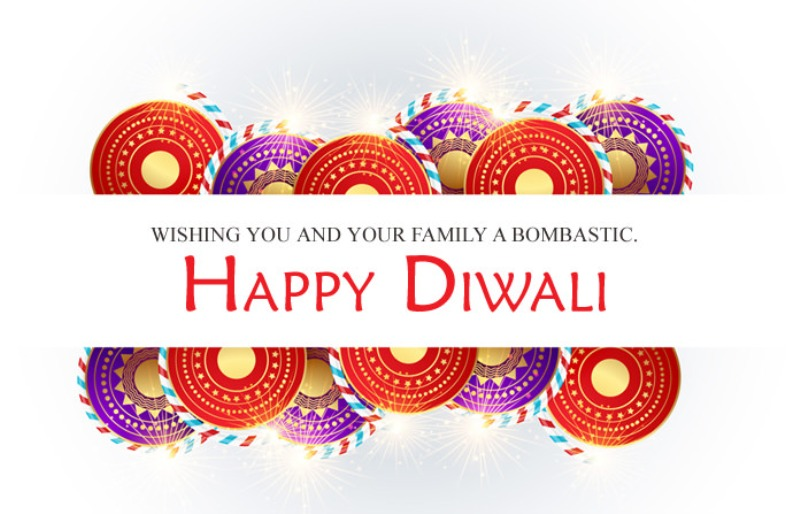 Picture: Wishing You And Your Family A Bombastic Diwali