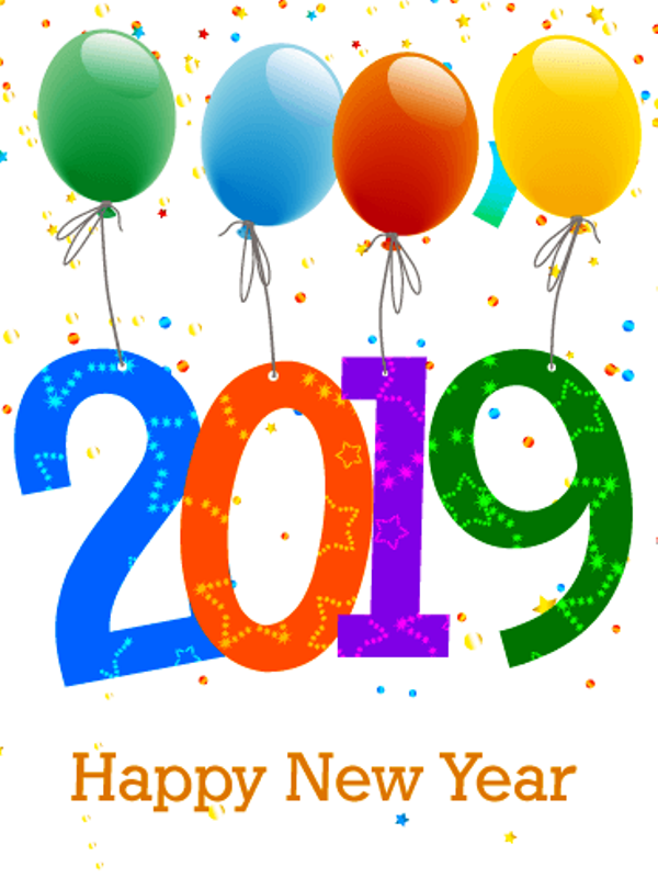 2019 Happy New Year Pic