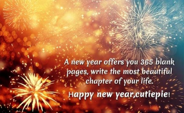 A New Year Offers You 365 Blank Pages
