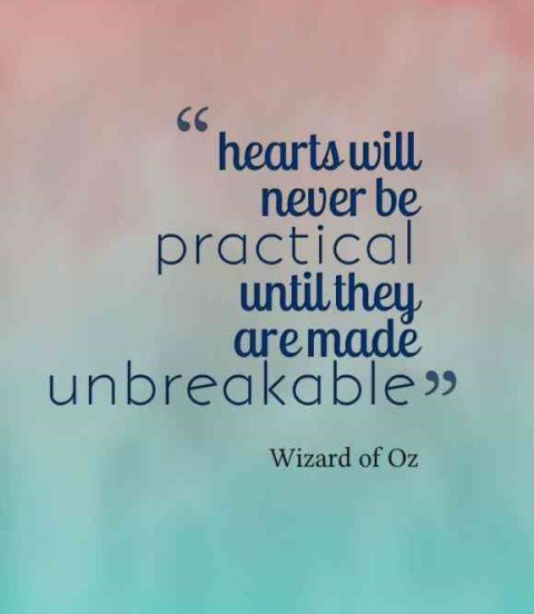 Hearts Will Never Be Practical