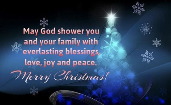 May God Shower You And Your Family