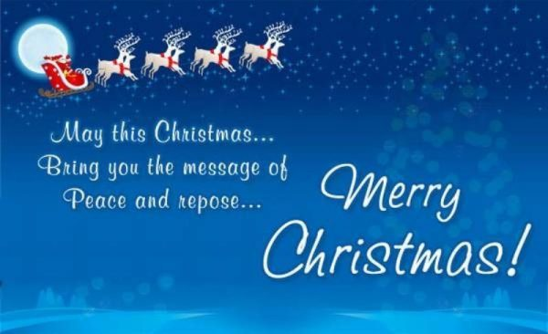 Picture: May This Christmas Bring You The Message