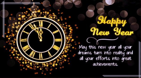 May This New Year All Your Dreams