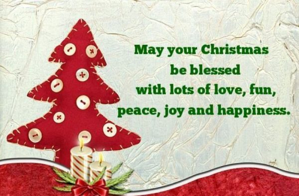 May Your Christmas Be Blessed