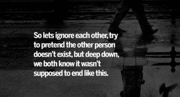 So Lets Ignore Each Other