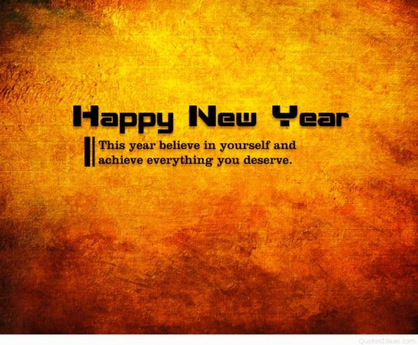 This Year Believe In Yourself