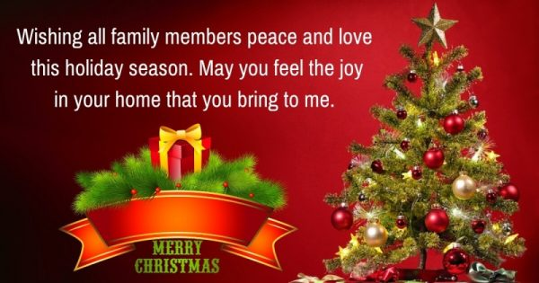 Wishing All Family Members Peace And Love