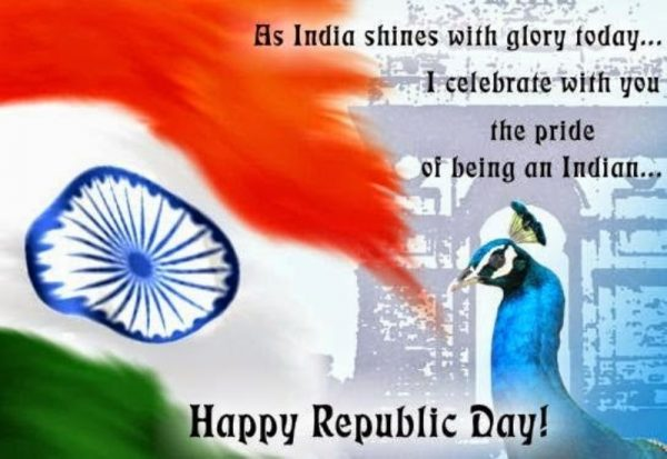 As India Shines With Glory Today