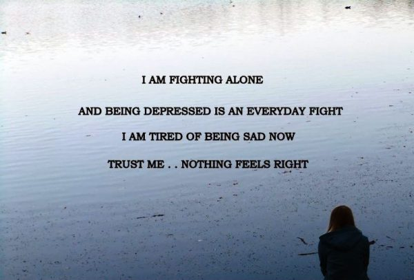 I Am Fighting Alone
