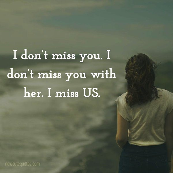 I Don't Miss You