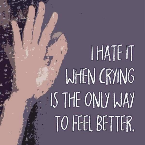 I Hate It When Crying