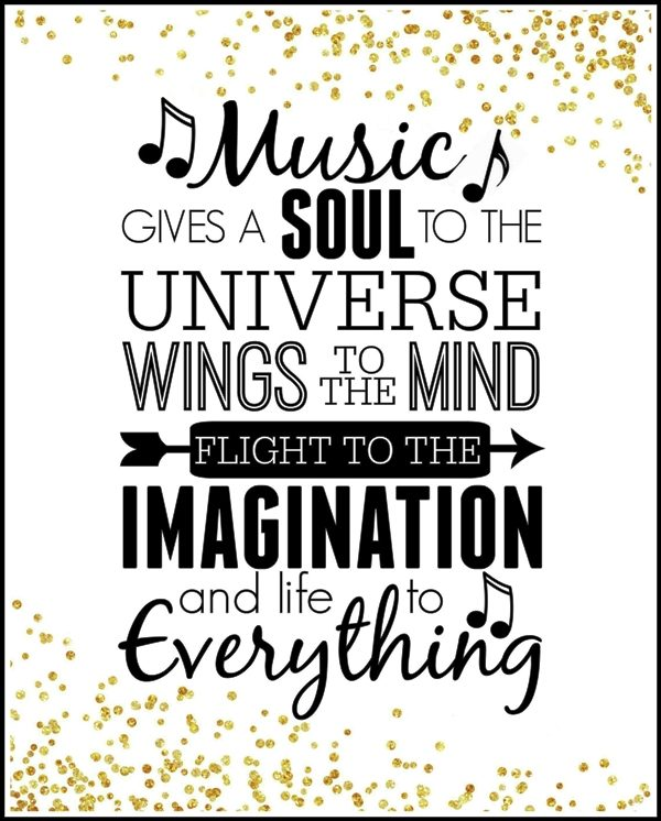 Picture: Music Gives A Soul To The Universe
