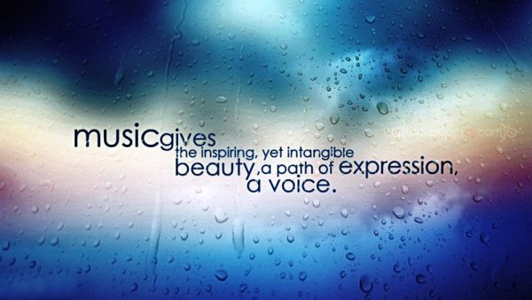 Picture: Music Gives The Inspiring