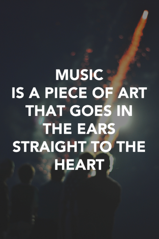Picture: Music Is A Piece Of Art