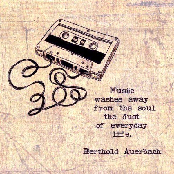 Music Washes Away From The Soul