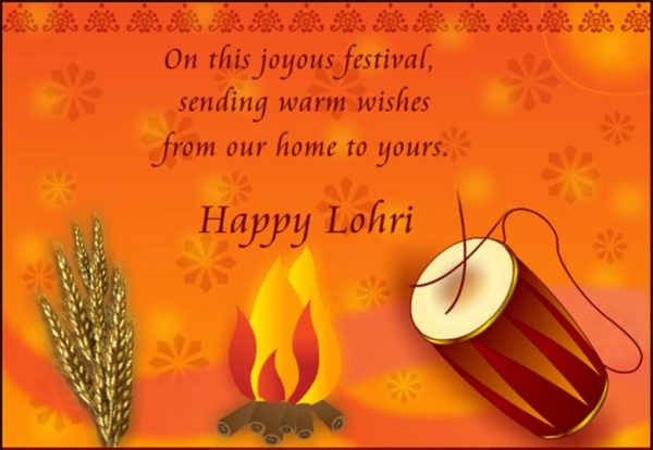 On This Joyous Festival Sending Warm Wishes
