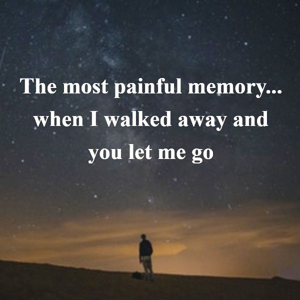 The Most Painful Memory