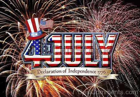 Picture: 4th July – Declaration Of Independence