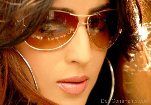 Mahi Gill Wearing Sunglasses