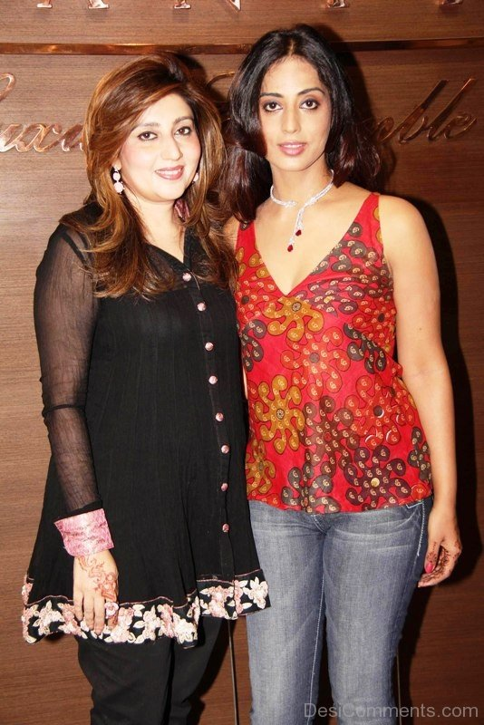 Mahi Gill With Friend