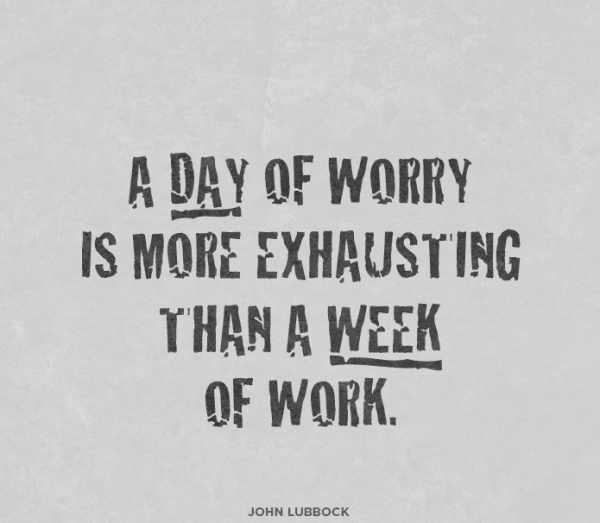 Picture: A Day Of Worry