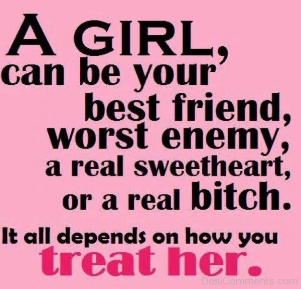 A Girl Can Be Your Best Friend Quotes