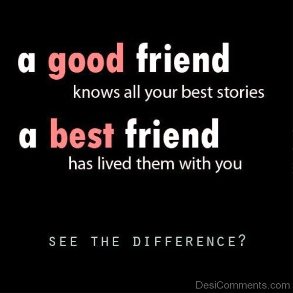 A Good Friend - A Best Friend-dc0206