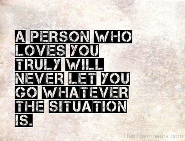 A Person Who Loves You Truly-cv501DC1614