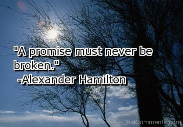 A Promise Must Never Be Broken -DC024