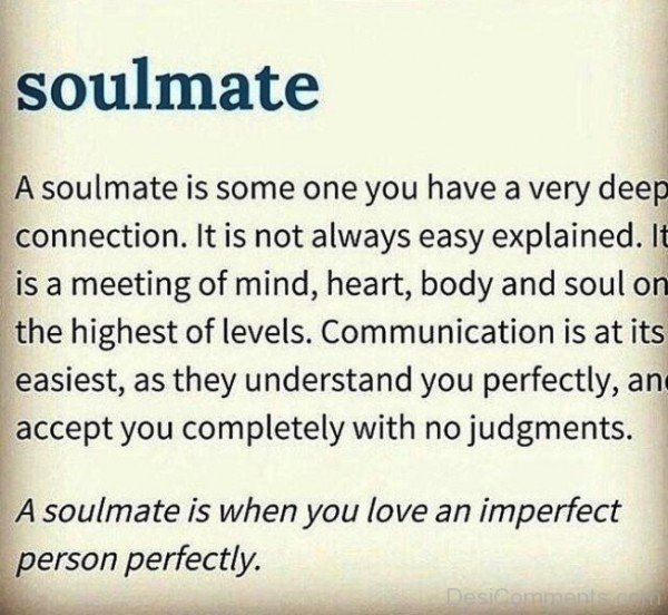 A Soulmate Is Someone You Have-yni801DC50