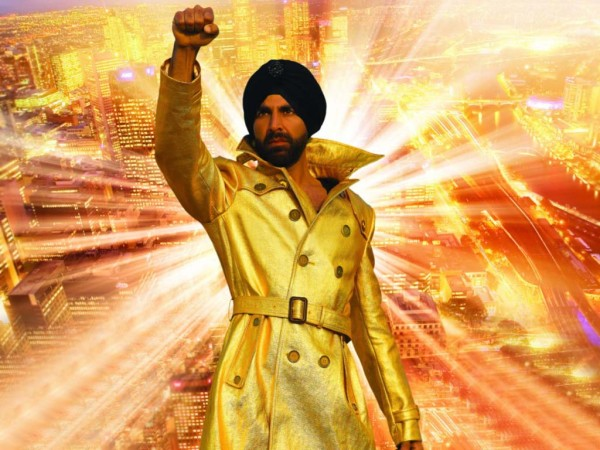 Akshay  kumar in Punjabi dress