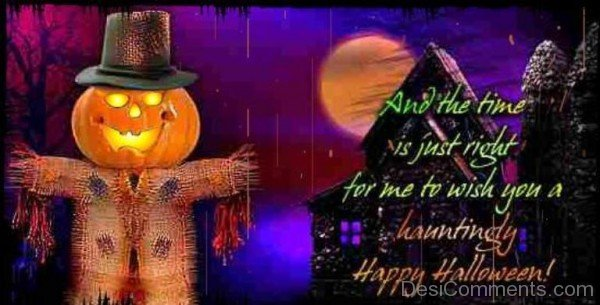 Wish You A Hauntingly Happy Halloween