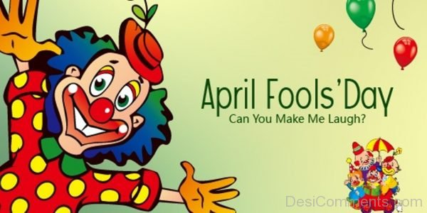 April Fool's Day - Can You Make Me laugh-DC20