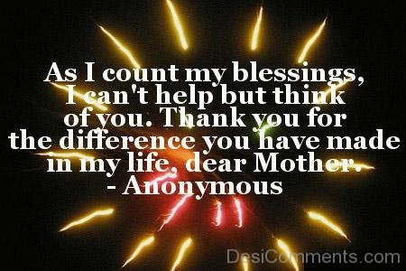 As I Count My Blessings
