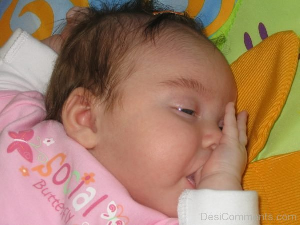 Baby Girl Sleeping-Dc03