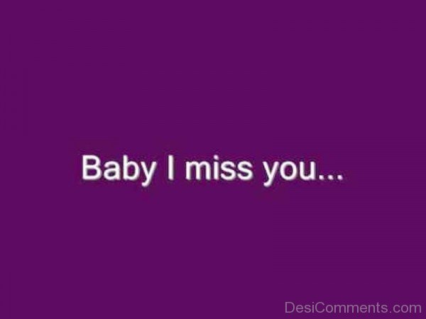Baby I Miss You-yt601DESI01