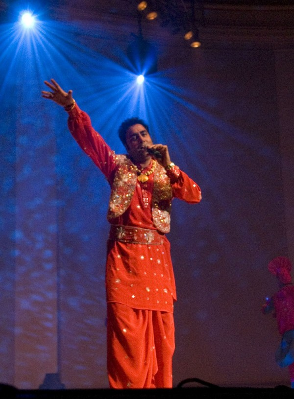Baljit Malwa During Stage Show