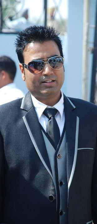 Baljit Malwa Wearing Sun Glasses