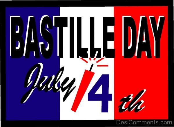 Bastille Day July 14th