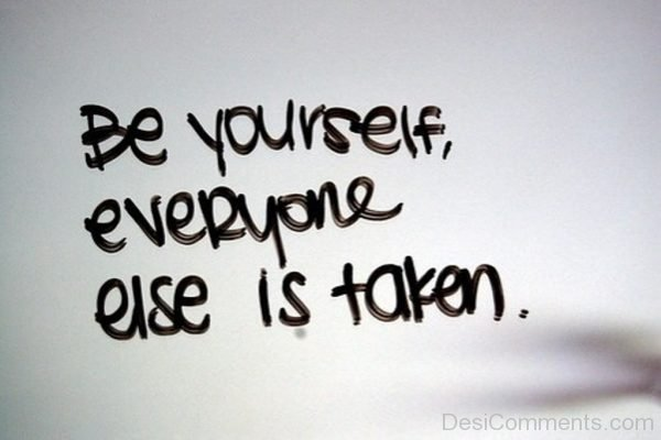 Be Yourself  Everyone Else Is Taken-Dc04