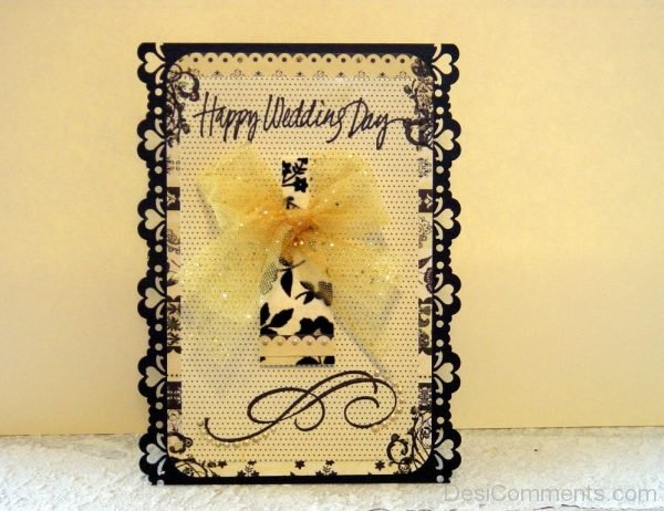 Beautiful Happy Wedding Day Wish-DC03