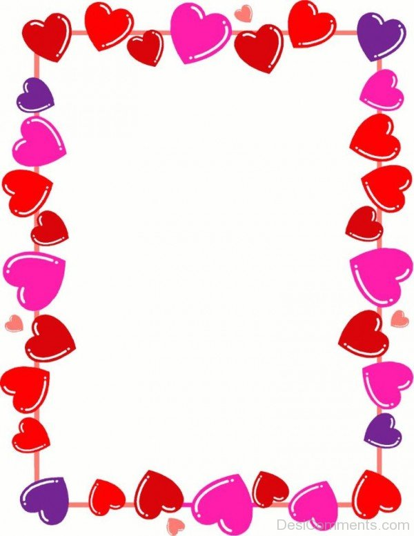 Beautiful Hearts Frame- DC 02034