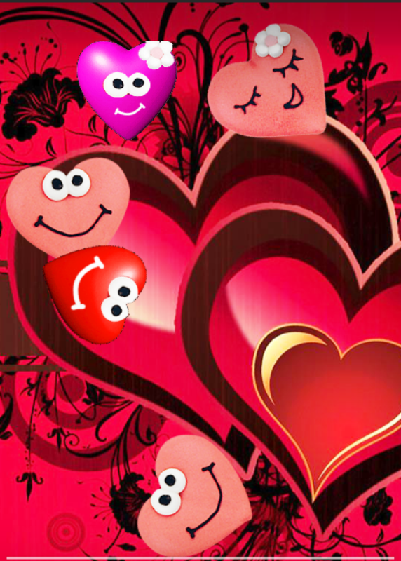 Beautiful Smily Hearts-tvw228desi79
